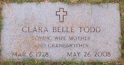 Clara Belle Todd
