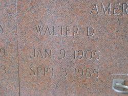 Walter D. Amerson