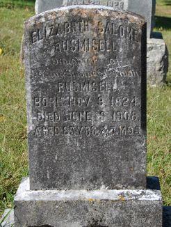 Elizabeth Salome Rusmisel