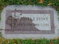 Donna Elaine <I>Everett</I> Brown