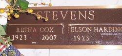 Retha <I>Cox</I> Stevens