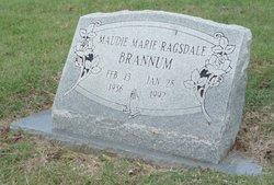 Maudie Marie <I>Ragsdale</I> Brannum