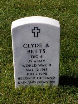 Clyde A Betts