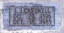 """Lester Jennings """"L.J."""" Cardwell"""