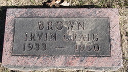 Craig irwin Brown
