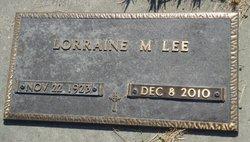 Lorraine Mae <I>Walberg</I> Lee