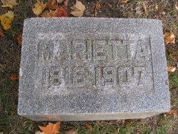 Marietta <I>Brown</I> Parker