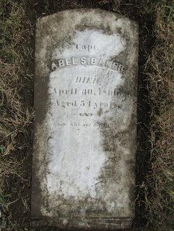 Capt Abel S Baker