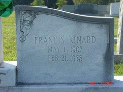 Ida Francis <I>Kinard</I> Barnes