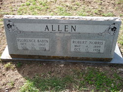 Florence <I>Babin</I> Allen