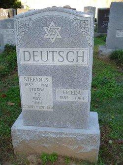 Frieda <I>Hahn</I> Deutsch