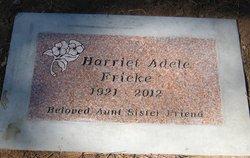 Harriet Adele Fricke