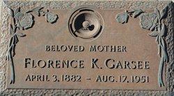 Florence K Garsee