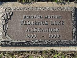 Florence <I>Luke</I> Alexander