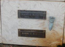 Harry E Barnes