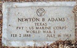 Newton B Adams