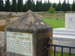 Doiran Military Cemetery
