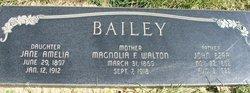 """Jane Amelia """"Millie"""" Bailey"""