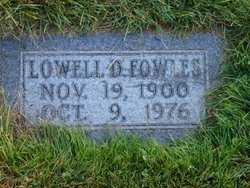 Lowell David Fowles