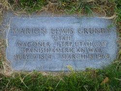 Marion Lewis Grundy