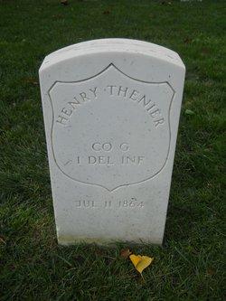 Pvt Henry Thenier