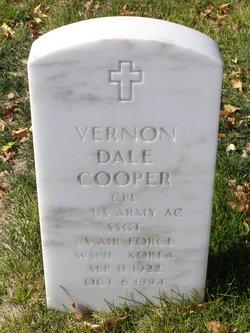 """Vernon Dale """"Dale"""" Cooper"""