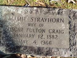 Mamie <I>Strayhorn</I> Craig