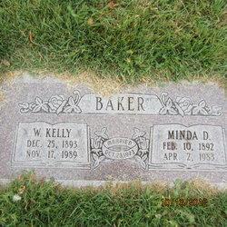 Minda Anna Doris Louise <I>Schocker</I> Baker