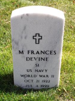 Mary Frances <I>Hopkins</I> Devine