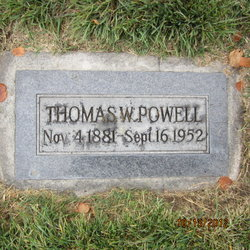 Thomas W Powell