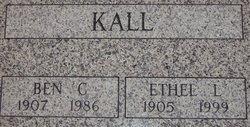 Ethel L <I>Kopp</I> Kall