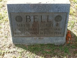 "Seleta Elizabeth ""Sleety"" <I>Clifton</I> Bell"