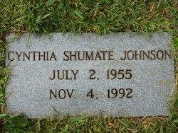Cynthia <I>Shumate</I> Johnson