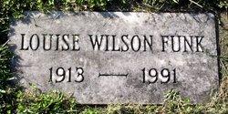 Louise <I>Wilson</I> Funk