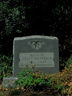 Julia V <I>Abrams</I> Weintraub