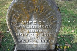 Eliza B <I>Woolfolk</I> Johnson