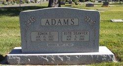 Ruth Naomi <I>Shawver</I> Adams