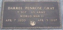 Sgt Darrel Penrose Gray