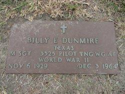 Sgt Billy E Dunmire