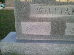 Anna Conley <I>Tomlinson</I> Williams