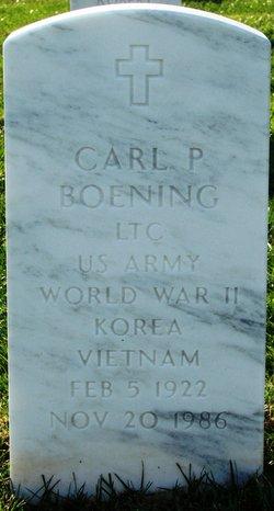 Carl P Boening