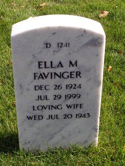 Ella M. <I>McKillip</I> Favinger