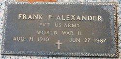 Frank Preston Alexander