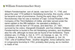 "Wilhelm ""William"" Fenstermacher"