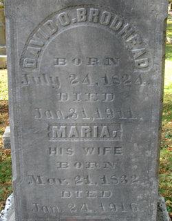 Maria B <I>Van Etten</I> Brodhead