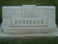 Myrtle S <I>Moore</I> Bradford