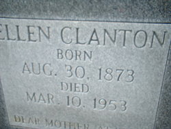 Ellen C. <I>Ward</I> Clanton