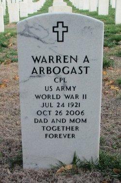 Warren Albert Arbogast
