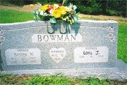 Lona Jane <I>Stacy</I> Bowman