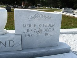 Frances Merle <I>Rowden</I> Bond